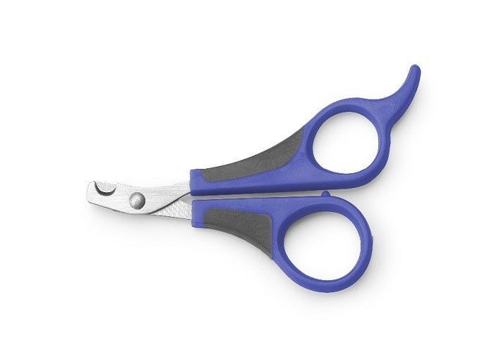 Multi Color Pet Grooming Scissors Nail Cutter Safety Guard ABS Small Size