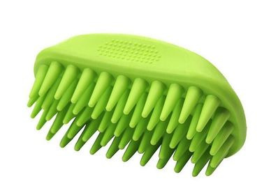 Cina Soft Bristle Durable Cat Grooming Brush, Silicone Dematting Dog Hair Brush pabrik